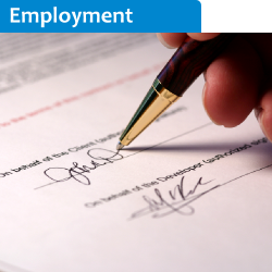 employment agreement solicitor manchester